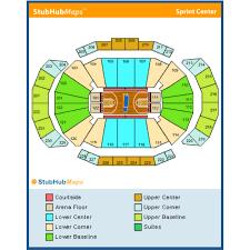 Sprint Center Seating Chart Rows Sprint Center Kansas City Event Venue Information Get