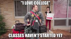 stages of your freshman year of college viralized 5 stages of your freshman year of college
