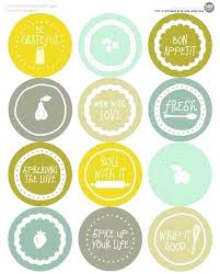 Avery Jar Labels Canning Jar Label Template
