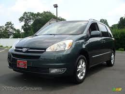 2004 Toyota Sienna XLE Limited AWD in Aspen Green Pearl - 013317 ...