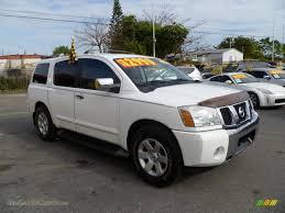 2004 Nissan Armada LE in Blizzard White - 746198 | Jax Sports Cars ...
