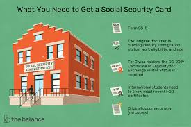 a social security number