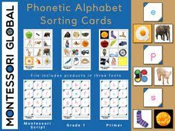 With the english alphabet you lay the most important foundation for learning the english language. Phonetic Alphabet Sorting Cards Teaching Resources