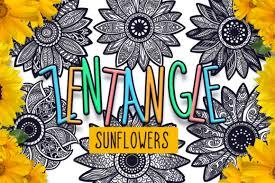 All sunflower monogram frame files cricut silhouette vinyl cuttable designs download file digital free file sunflower flower instant design. 496 Sunflower Svg Designs Graphics