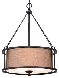 kira home maxwell 17 5 metal drum chandelier glass diffuser oil rubbed bronze