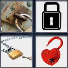 4 pics 1 word 7 letters level 3761 padlock