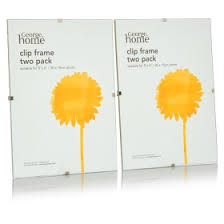 george home clip frame 7x5in 2pk undefined