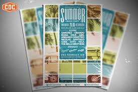 Summer Beach Party Flyer Template ~ Flyer Templates ~ Creative Market
