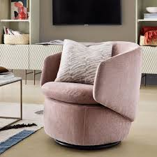 west elm crescent swivel chair review