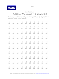 784 Multiplication Worksheets for You to Print Right Now likewise Multiplication Timed Testts Math Multiplying Digit Number By Mixed together with 1st Grade Math Worksheets   Free Printables   Education in addition  additionally  also Worksheets for division with remainders additionally Printable Math Worksheets at DadsWorksheets furthermore  besides Two Minute Addition Worksheets in addition  furthermore . on 2 minute math pages dads worksheet 100 edition
