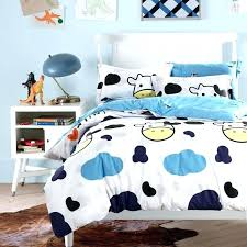 cow print bedding set cowgirl duvet cover set personalized baby n toddler source a cow duvet cover 5 highland cow duvet cover blue white cloud and cow zebra