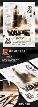 vape party flyer office parties flyer template and smoking vape party flyer psd template vape lounge 8 3x11 7