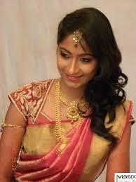 Makeover Saree Designs South Indian Bride Wearing Designer Cutwork Blouse For