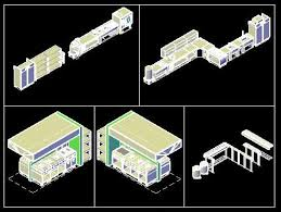 Autocad Kitchen Design Adorable Layout Design For A Commercial Kitchen DWG Block For AutoCAD
