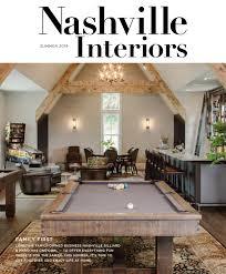 Zac Brooks Interior Design Nashville Interiors Summer 2019 By Nashville Interiors Issuu
