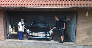 garage door murals20 Awesome Garage Door Decals  Carrentals Blog