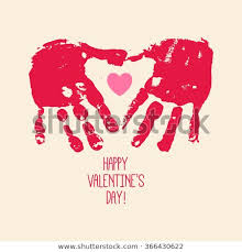 kids valentines day background. Perfect Kids Valentineu0027s Day Abstract Background With Handprint Heart Heart Hands  Children Art Kids With Valentines Day Background Shutterstock