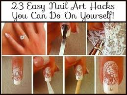 Easy Nail Art Hacks You Can Do On Yourself!