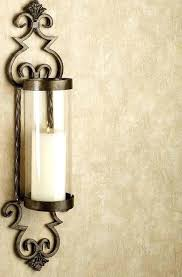interesting wall black metal candle wall sconces gold sconce lamps elegant accessories electrical popular holder in e