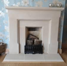 quartz stone fireplace surround