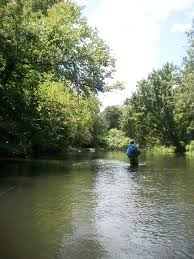 Tennessee Fly Fishing Duck River July 2012