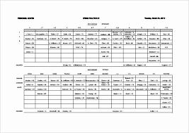 Blank Youth Football Depth Chart Fantasy Football Depth Chart 2019 Football Roster Template