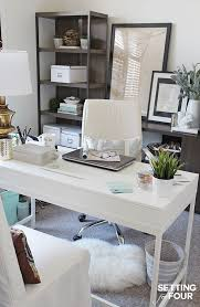 Office Decor Makeover - see the color of the year paint color I chose,  Simply