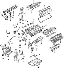 parts com® ford gasket valve rocker partnumber f6dz6584ba 1997 ford taurus sho v8 3 4 liter gas engine parts