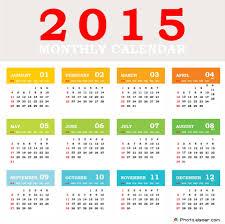Simple 2015 Calendar Top 10 Designs For 2015 European Calendars Elsoar