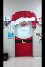 christmas classroom door aaron office door decorated