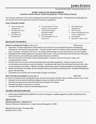 Hotel Management Resume Format 20 Operations Manager Resume Sample