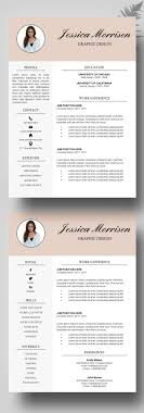 Resume Template Free Creative Resume Templates Word Free Career