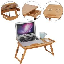 portable computer notebook laptop desk table folding bed sofa couch tray drawer