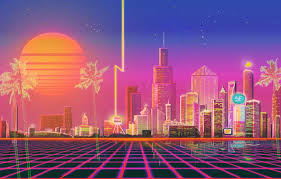 Or view related neon, city, jessica, rabbit wallpapers 80s Neon City Wallpapers 4k Hd 80s Neon City Backgrounds On Wallpaperbat