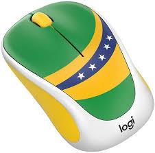 Компьютерная <b>мышь Logitech Fan</b> Collection <b>M238</b> Brasil купить ...