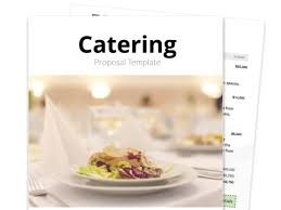 Use this free catering contract template will allow you to grow your food services business quickly. Catering Proposal Template Free Sample Proposable