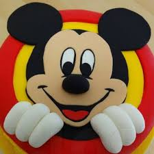 smiling mickey mouse cake by cakezone