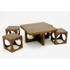wood coffee table set. View Larger. COFFEE TABLES SETS Mavifurniture Wood Coffee Table Set F
