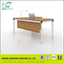 simple office furniture. office furniture vietnam simple manager table design