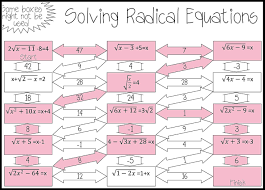 math worksheets go solving radical equations worksheet example