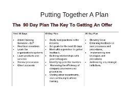 Job Action Plan Template