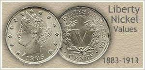 V Nickel Value Chart Discover Your Old Nickel Values