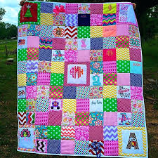 Making Memory Quilts – boltonphoenixtheatre.com & ... Quilt Made Out Of Baby Clothes From Birth 1 Year Absolutely Beautiful  Making Memory Quilts From ... Adamdwight.com