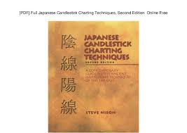Pdf Full Japanese Candlestick Charting Techniques Second
