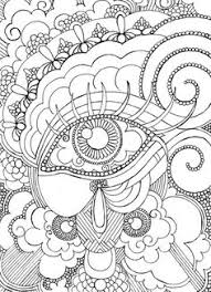 Small Picture Eye Want To Be Colored Adult Coloring Page Steampunk Coloring