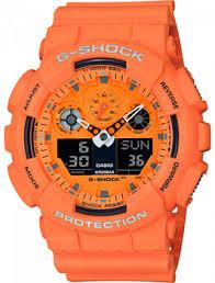 <b>Часы Casio GA</b>-<b>100RS</b>-<b>4AER</b> - купить <b>мужские</b> наручные часы в ...