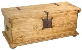 rustic pine trunk coffee table