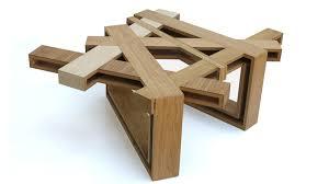 industrial wood furniture. industrial designer eli chissicku0027s brilliant upcycled wood furniture solidsmack