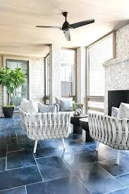 Modern Sunroom Furniture With Pebbled Fireplace Modern Sunroom