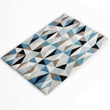 cologne geometric wool rug 3d model max obj fbx 3